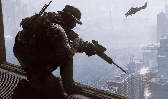 Battlefield 4 - Sniper Shanghai