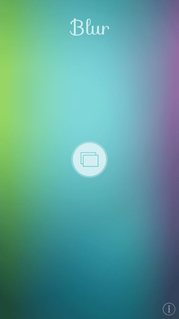Blur App Screenshot