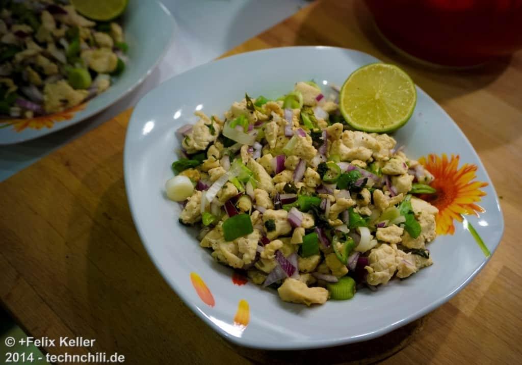 Hähnchensalat - Thai-Style