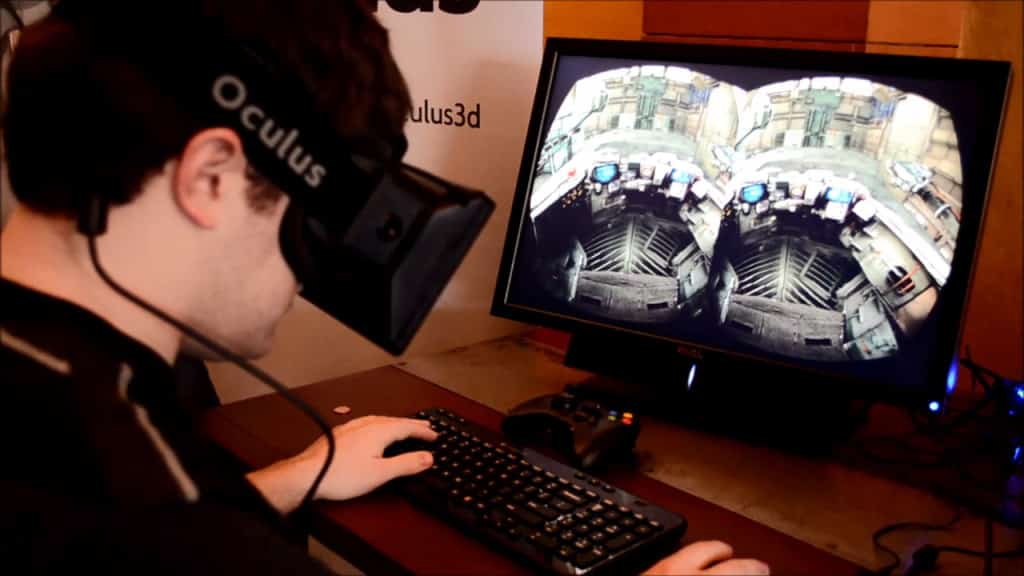 Oculus Rift in Nutzung