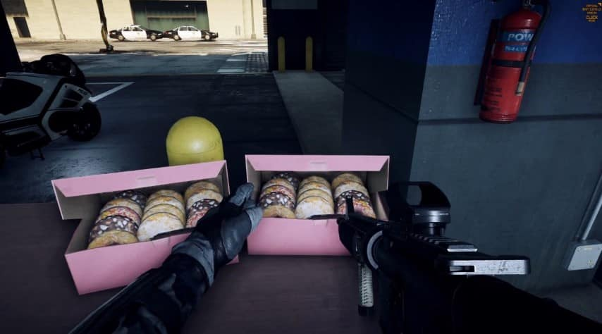 Battlefield Hardline Multiplayer Video -Donuts spotted