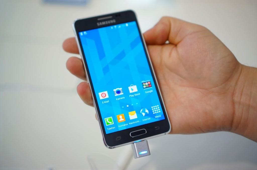 Samsung Galaxy Alpha getestet