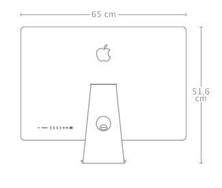 5k iMac Größe