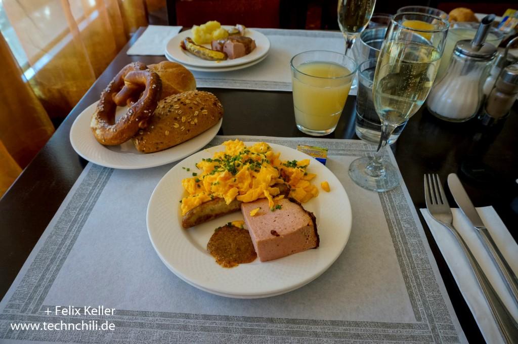 Frühstücken im Hotel Europa