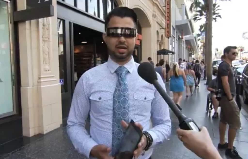 Jimmy Kimmel iPhone5S Streich