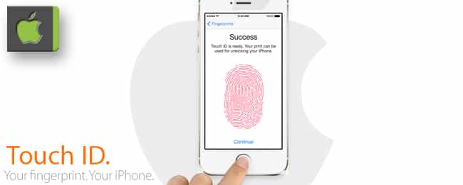 Apple Touch ID Finger weg
