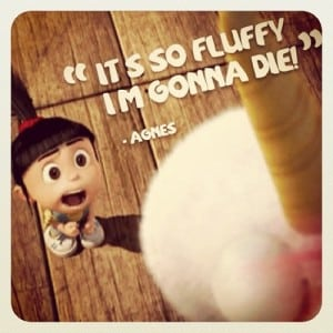 Its so fluffy, i'm gonna die!