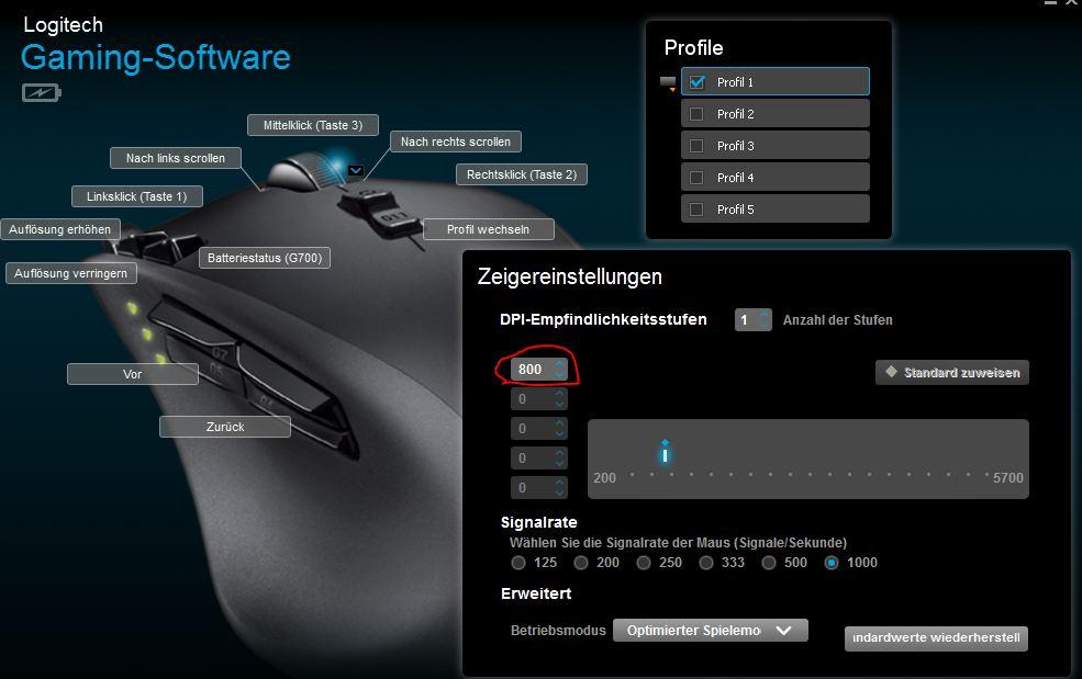 Battlefield 4 Mouse Einstellungen