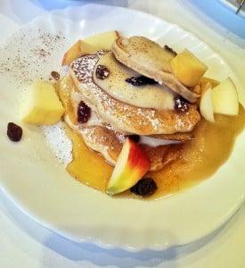 Apfel-dinkel Pancakes
