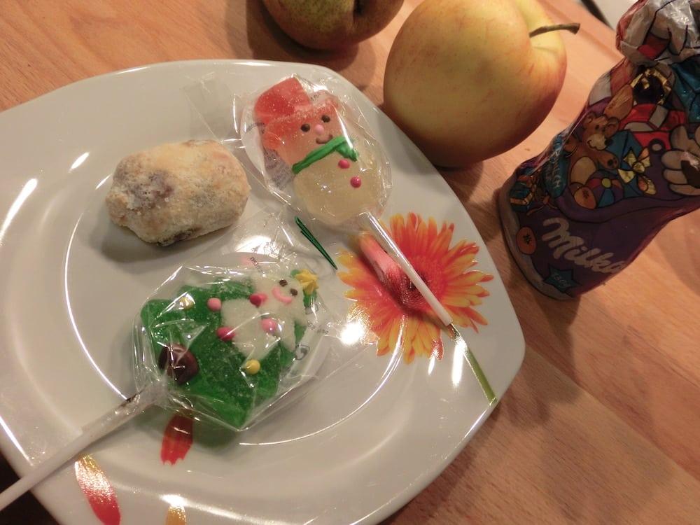 Weihnachtskalorien