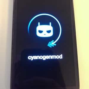 Cyanogenmod ist fertig und bootet