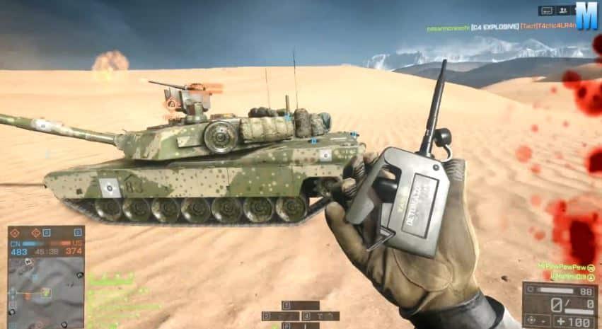Battlefield 4 toller Killstreak