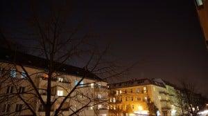 Kurze Nachthimmel-Zeitraffer-Aufnahme