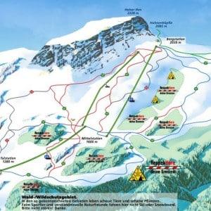 Hofer Ifen - Skigebiet