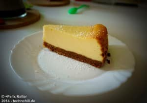 Der perfekte New York Cheesecake