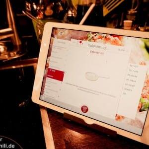 Cuciniale_25 Immer auf das App achten