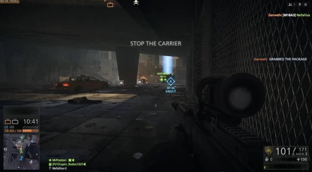 Erstes Beta-Gameplay Hardline