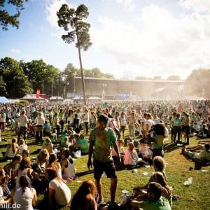 Holi Festival Berlin 2014 - Entspanntes Festival