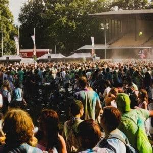 Holi Festival Berlin 2014 - Panorma