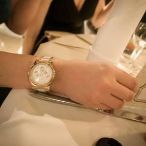 Michael Kors Uhr darf natürlich nicht fehlen