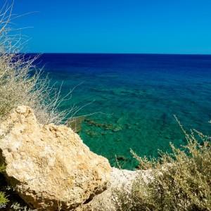 Wunderbar blaues Meer