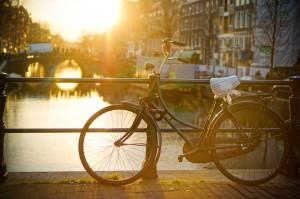 Fahrräder überall