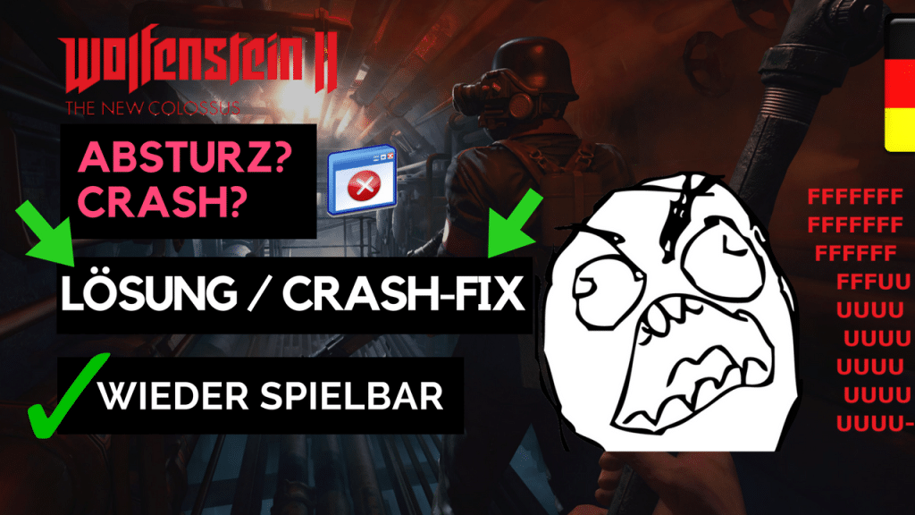 Wolfenstein 2 Crash Fix