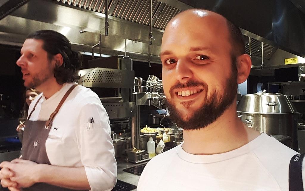Orania Chef Philipp Vogel und Ich